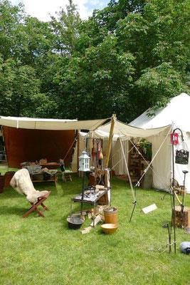Das Lager versinnbildlicht ein Flettdielenhaus