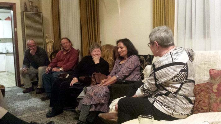 (L-R) David, Jim, Cynthia, Amrit and Margaret