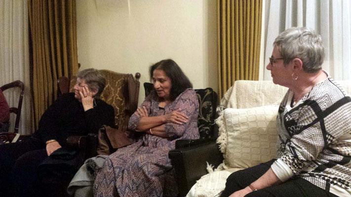 (L-R) Cynthia, Amrit and Margaret