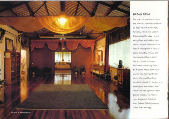 Avatar's Abode - Baba's Room & hall