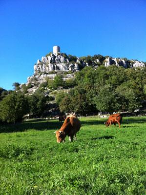 Balazuc - Ardèche - La tour reine Jeanne