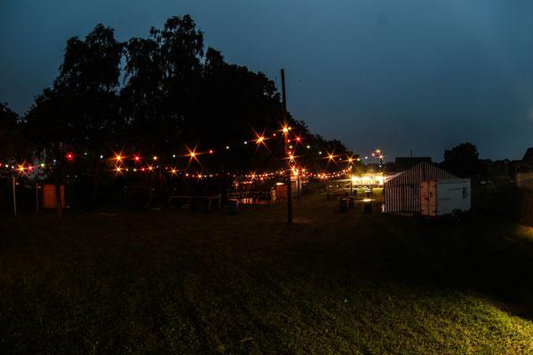 Lichterketten im vollem Glanz