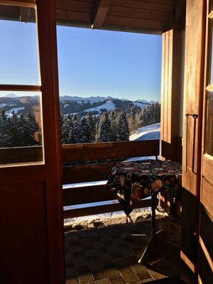 Ausgang Balkon