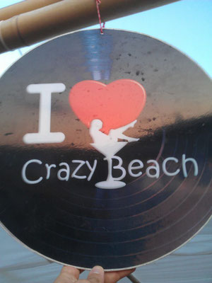i love crazy beach
