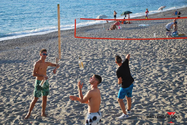 beach volley al lido crazy beach