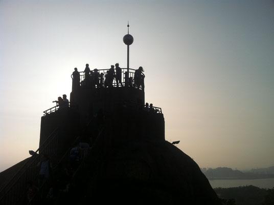 Aussichtspunkt der vorgelagerten Insel Gulangyu von Xiamen, ein beliebtes chinesisches Tourismusziel