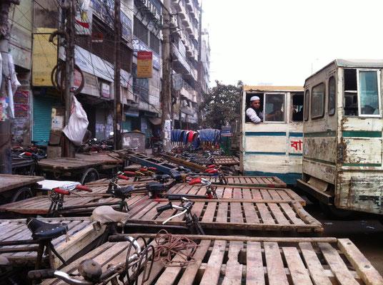 In der Altstadt Dhakas