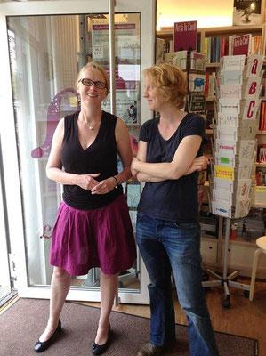 Mit Sabine Stiehler vom Logbuchladen Bremen bei der Lesung im Juni 2016