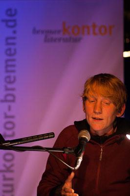 Präsentation der Ergebnisse der Prosa-Werkstatt des Literaturkontors Bremen mit Michael Wildenhain, Dezember 2012