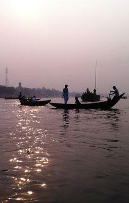 Auf dem Fluss Buriganga, Dhaka