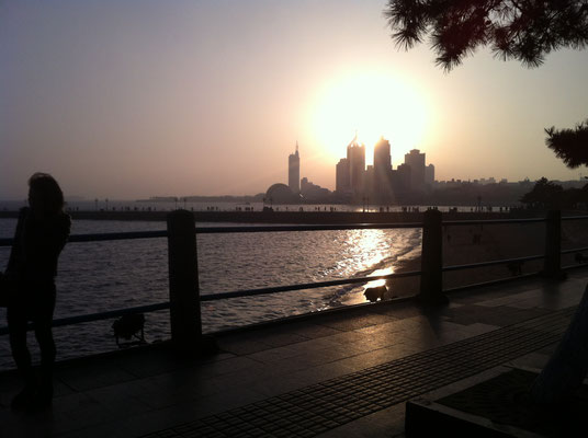 Am Meer in Qingdao