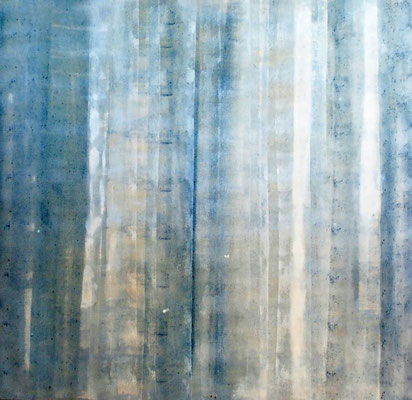 Vorhang    -       Arcyl a.Lw.,  2015 , 95 x95 cm