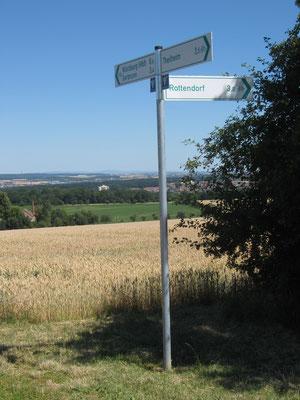 Von Rottendorf kamen wir, nach Würzburg wollten wir, aber nicht auf dem direkten Radweg.