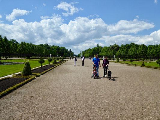 Mittelachse des Schlossparks