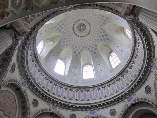 """Innenansicht der """"Moschee""""kuppel"""
