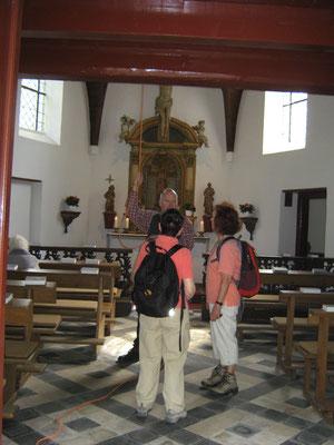 In der Xantener Fürstenbergkapelle wird die Glocke noch von Hand geläutet.