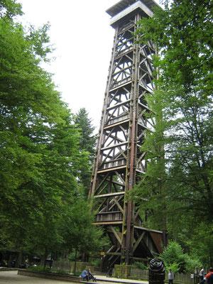 Der Goetheturm war für lange Zeit das höchste Holzbauwerk Deutschlands.