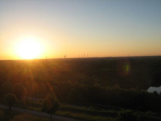 Sonnenuntergang vom Geleucht aus