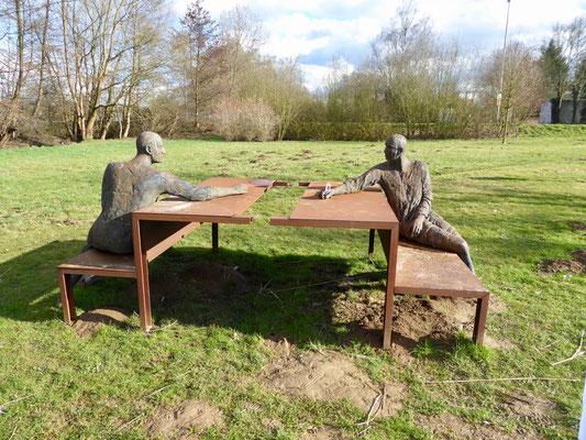 Eindrücke vom Eschborner Skulpturenpark