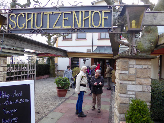 Unsere Mittagsrast in Kronberg