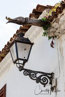 Detail of traditional architecture in Icod de Los Vinos