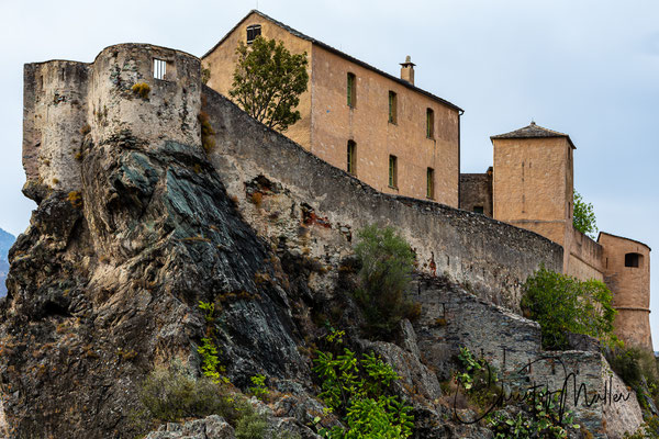 "The Citadel of Corte ""Citadelle de Corte"" host the anthropological museum ""Musée de la Corse""  which is worth to visit."
