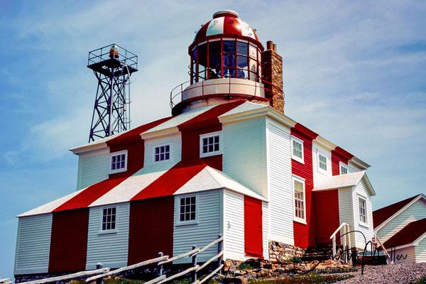 Cape Boavista Lighthouse in Newfoundland