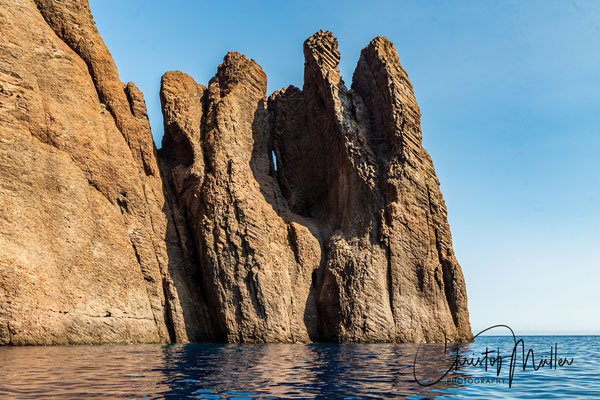 """Reserve naturelle de Scandola"", Scandola Nature Reserve is recognized as an UNESCO Natural World Heritage Site."