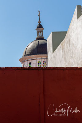 The dome of the Cathedral of San Cristóbal de La Laguna