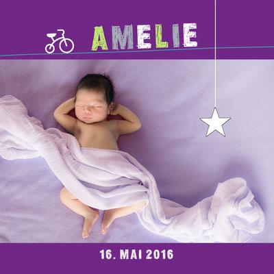 Amelie Vorderseite / 148x148mm