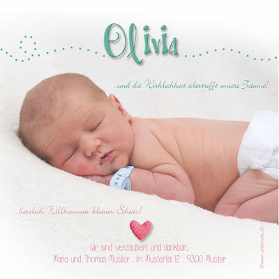 Olivia Rückseite / 148x148mm