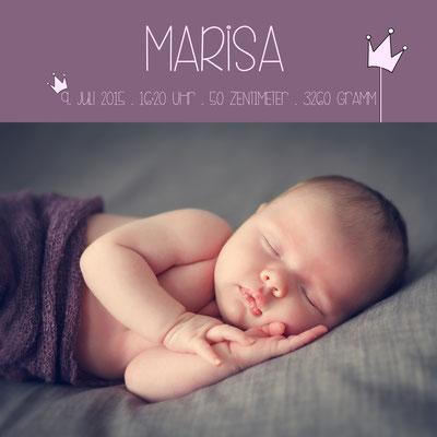 Marisa Vorderseite / 148x148mm