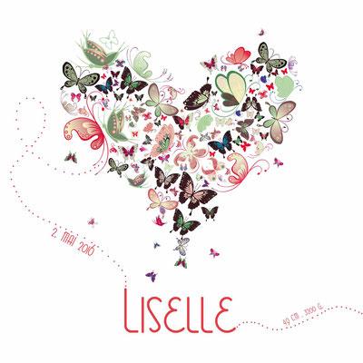 Liselle Vorderseite / 148x148mm