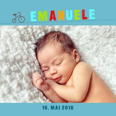 Emanuele Vorderseite / 148x148mm
