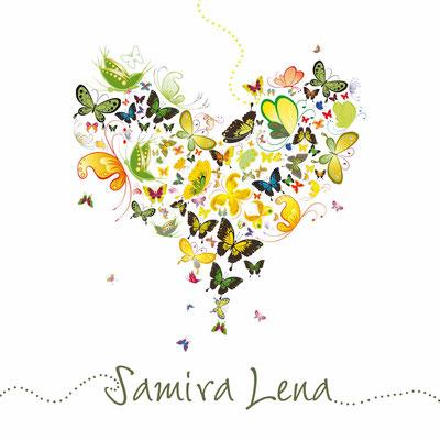 Samira Lena Vorderseite / 148x148mm