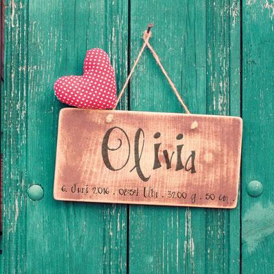 Olivia Vorderseite / 148x148mm