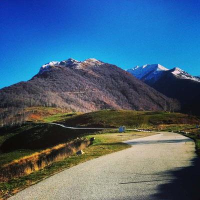 Sullo sfondo a destra il Monte Camoghè