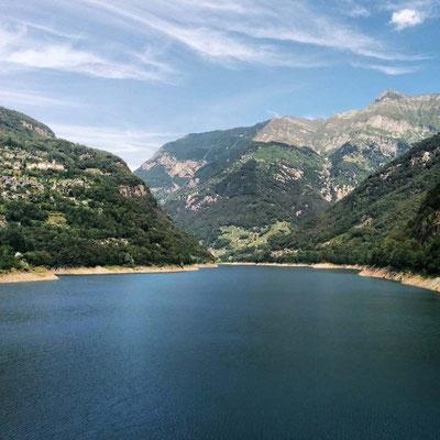 Lago di Vogorno verso nord