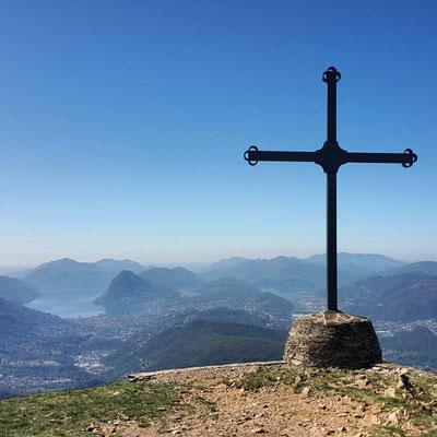 Vista su Lugano dal Crocione