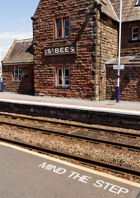 St. Bees train station (credits Maria Luckey)