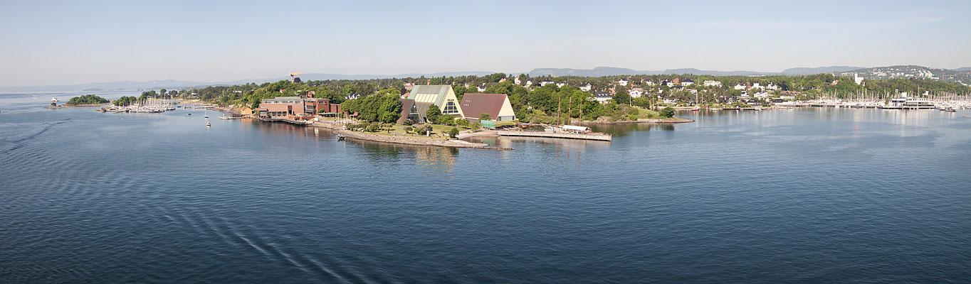 Insel Bygdoy Oslo - Fram Museum