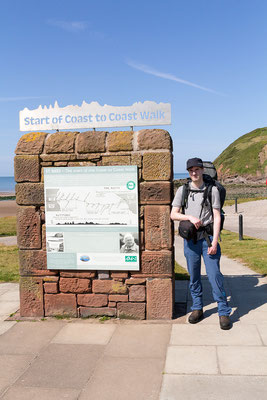 official start point of C2C at St. Bees Head (credits Maria Luckey)