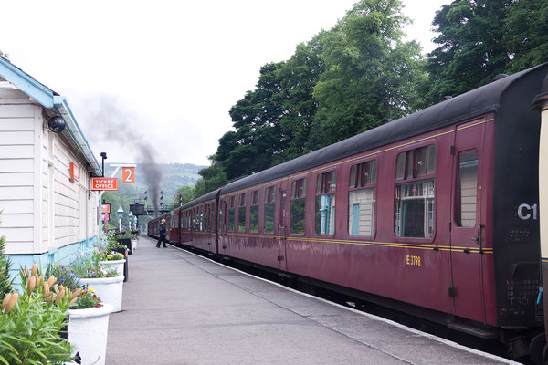 Old Stream Train in Grosmont