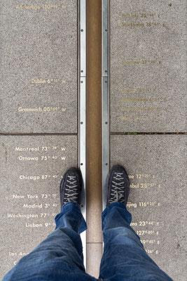 Nullmeridian Greenwich