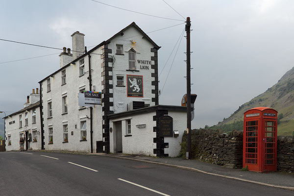 White Lion Inn in Patterdale (credits Maria Luckey)