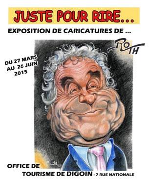 Jusqu'au 26 juin : exposition ROTH à l'office de tourisme de Digoin