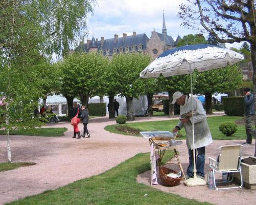 Lundi 6 : Flaneries au Parc à Lapalisse : artisans, peintres, musiques et animations pour enfants