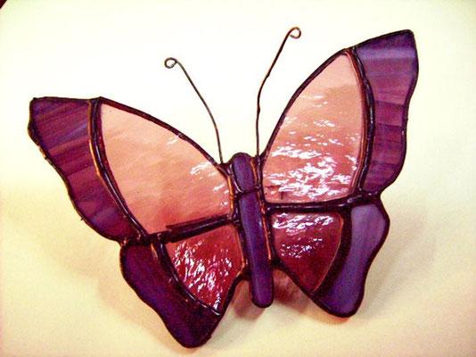 Mariposa Grande - Módulo decorativo de pared - Color Lila.