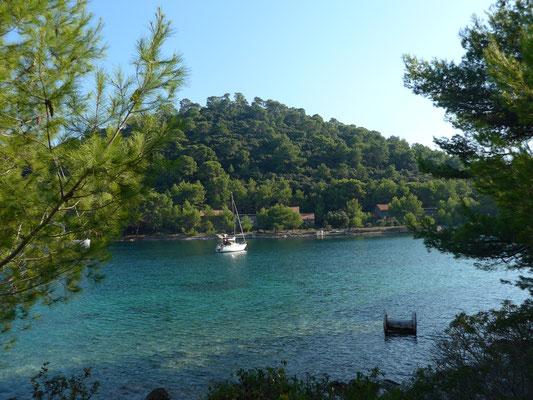 Jurjewa Luka bay/Lastovo island