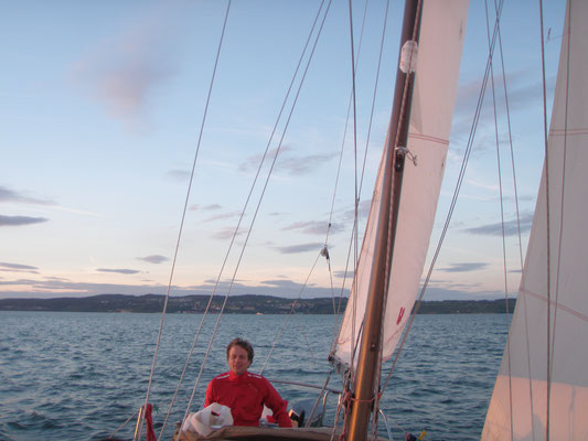 Some after work sailing